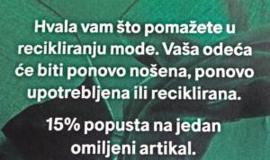 reciklaža u H&M