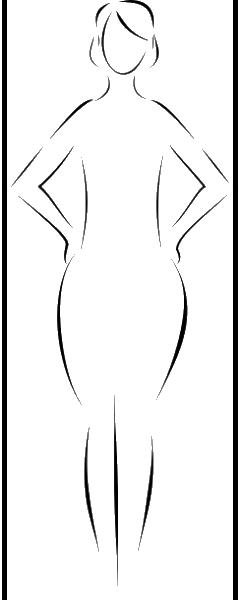 A oblik tela