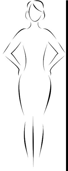 oblik tela pescanog sata