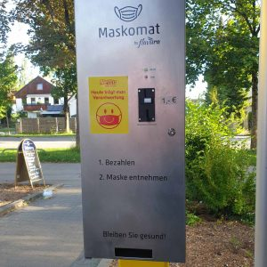Automat na kome se prodaju maske - tako to rade Nemci