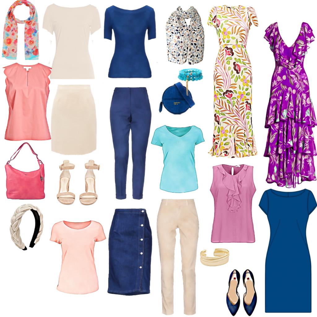 Primer letnje modne kapsule