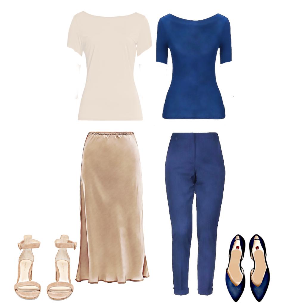 Za polaznu modnu kapsulu je bitno da odevni predmeti budu jednostavnog kroja.